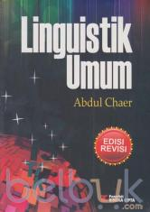 Linguistik Umum (Edisi Revisi)