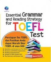 Essential Grammar and Reading Strategy for TOEFL Test
