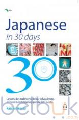 Japanese in 30 Days