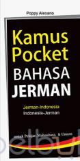 Kamus Pocket Bahasa Jerman (Jerman - Indonesia, Indonesia - Jerman)