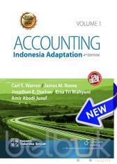 Accounting (Indonesia Adaptation) (Volume 1) (4th Edition)