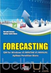 Forcasting: QM for Windows Vs Minitab Vs Manual: Aplikasi Penelitian Bisnis