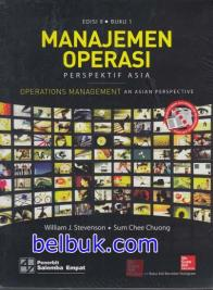 Manajemen Operasi: Perspektif Asia (Operations Management: An Asian Perspective) (Buku 1 ) (Edisi 9)