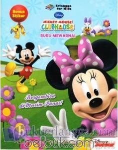 Mickey Mouse Clubhouse Buku Mewarnai Bergembira Di Musim Panas