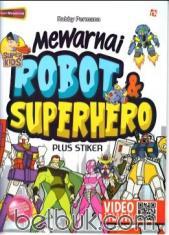 Mewarnai Pola Batik 1 Kunduri Belbuk Super Kids Robot Hero