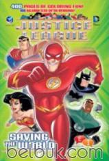 Justice League: Saving The World: 400 Halaman Seru untuk Mewarnai