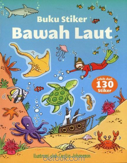 Buku Stiker Bawah Laut Belbukcom