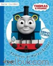 Buku Mewarnai: Thomas and Friends: Thomas di Pulau Sodor
