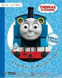 Buku Mewarnai Thomas And Friends Thomas Di Pulau Sodor Tim Efk
