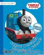 Buku Mewarnai: Thomas and Friends: Sehari Bersama Thomas and Friends