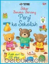Stiker Boneka Beruang: Pergi ke Sekolah