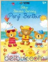 Stiker Boneka Beruang: Pergi Berlibur