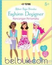 Stiker Baju Boneka: Fashion Designer: Rancangan Pertamaku