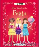 Stiker Baju Boneka: Pesta