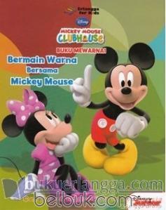 Mickey Mouse Clubhouse Buku Mewarnai Bermain Warna Bersama Mickey