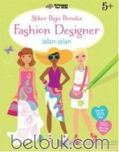 Stiker Baju Boneka: Fashion Designer: Jalan-Jalan