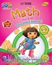 Dora The Explorer: Math for Kids Dora The Explorer! (Concepts Book) (Bilingual) (4-5 Years)