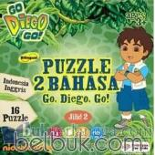 Puzzle 2 Bahasa Go, Diego, Go! (Indonesia - Inggris) (Jilid 2)