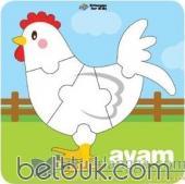 Puzzle Perkembangan Ayam