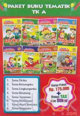 Paket Buku Tematik TK A: Pandai Tematik Anak Muslim