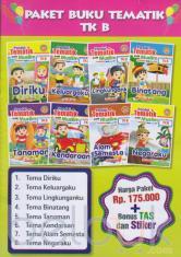 Paket Buku Tematik TK B: Pandai Tematik Anak Muslim