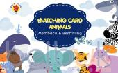 Matching Card Animals: Membaca & Berhitung