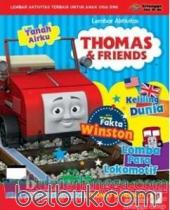 Lembar Aktivitas Thomas and Friends: Fakta Winston