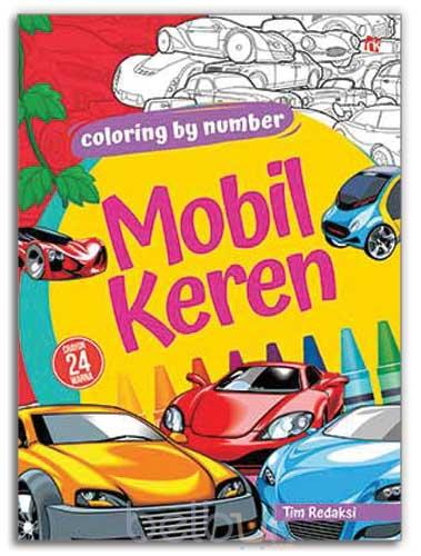 Coloring By Number Mobil Keren Tim Redaksi Belbukcom