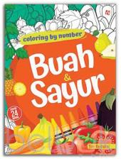 Coloring By Number: Buah dan Sayur