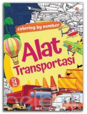 Coloring By Number: Alat Transportasi