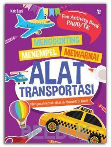 Menggunting Menempel Mewarnai Alat Transportasi Kak Lupi Belbukcom