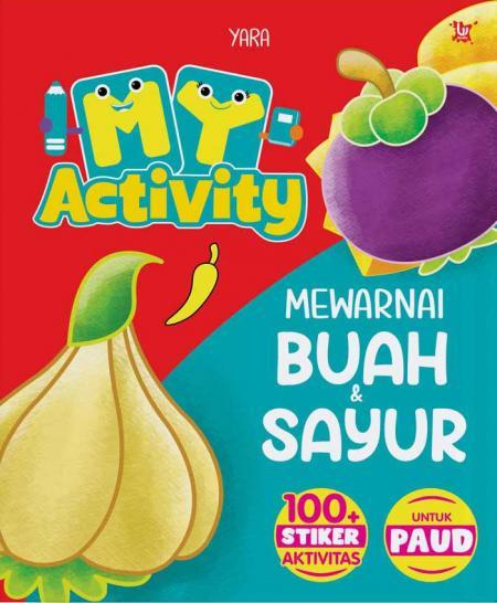 My Activity Mewarnai Buah Dan Sayur Yara Belbuk Com