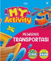 My Activity: Mewarnai Transportasi