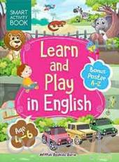 Smart Activity Book: Learn and Play in English (Age 4-6)