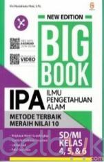 New Edition Big Book IPA SD/MI Kelas 4, 5, dan 6
