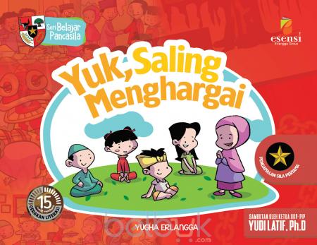 Seri Belajar Pancasila Yuk Saling Menghargai Yugha Erlangga Belbuk Com