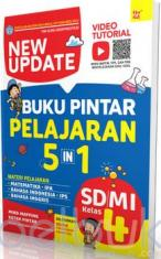 New Update Buku Pintar Pelajaran 5 in 1 SD/MI Kelas 4