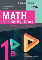 Math for Junior High School 2nd Semester Grade VII (English Edition) (KTSP 2006) (Jilid 1B)
