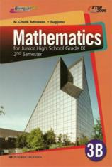 Mathematics for Junior High School Grade IX 2nd Semester (KTSP 2006) (Jilid 3B)