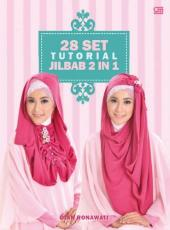 28 Set Tutorial Jilbab 2 in 1