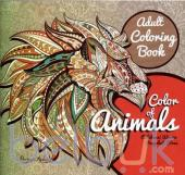 Adult Coloring Book: Color of Animals