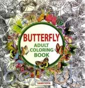 Butterfly: Adult Coloring Book