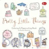 Pretty Little Things: Coloring and Papercutting Book