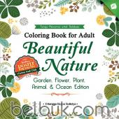 Coloring Book for Adult: Beautiful Nature