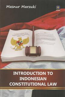 Introduction To Indonesian Constitutional Law