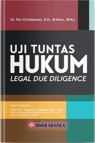 Uji Tuntas Hukum (Legal Due Diligen)