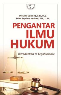Pengantar Ilmu Hukum (Introduction to Legal Science)