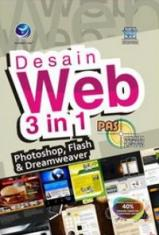 PAS: Desain Web 3 in 1 (Photoshop, Flash & Dreamweaver)