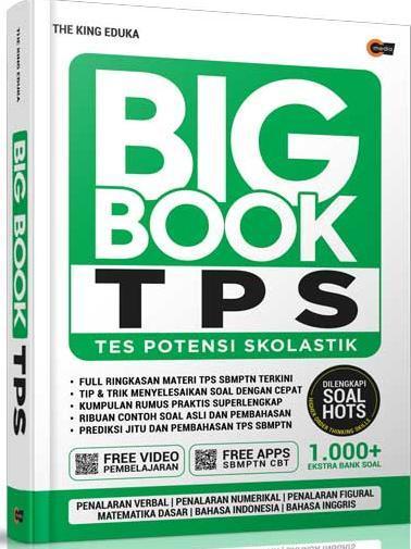 Big Book Tps Tes Potensi Skolastik The King Eduka Belbuk Com