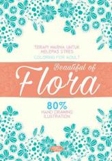 Coloring For Adult: Beautiful Of Flora